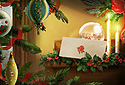 Christmas Letter (photo card) animated Flash ecard