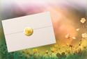 Buttercups animated Flash ecard