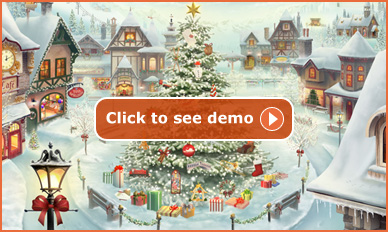 Click here to see the Alpine Advent Calendar demo..