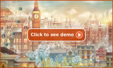 Click here to see the London Advent Calendar demo..