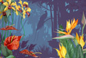 Tropical Tango animated Flash ecard