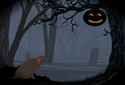 A Spooky Hallowe'en animated Flash ecard