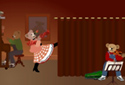 The Entertainer animated Flash ecard