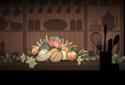 Pumpkin Pie animated Flash ecard