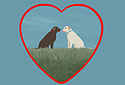 Friends Forever animated Flash ecard