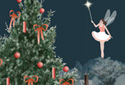 Sugar Plum Fairy animated Flash ecard
