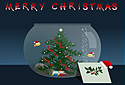 The Christmas Fishbowl animated Flash ecard
