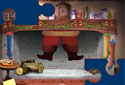 Santa's Jigsaw animated Flash ecard