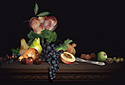 Autumn Fruits animated Flash ecard