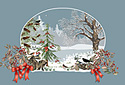 Tannenbaum animated Flash ecard