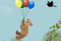 A Balloon Ride animated Flash  ecard