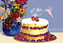 The Fairy Cake animated Flash ecard
