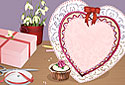 Hearts and Crafts animated Flash ecard