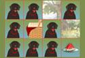 Picnic Pelmanism animated Flash ecard