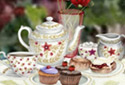Tea-time Treats animated Flash ecard