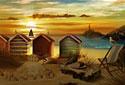 Serenity animated Flash ecard
