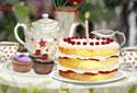 Tea-time Treats (Birthday  Version) animated Flash ecard