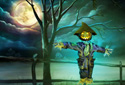 The Scarecrow animated Flash ecard
