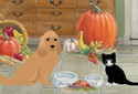 The Thanksgiving Feast animated Flash ecard