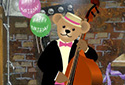 Birthday Band animated Flash ecard
