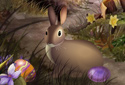 Easter Egg Hunt animated Flash ecard