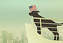 USA or Bust! animated Flash ecard