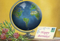 More than the world (Birthday) animated Flash ecard