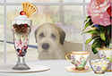 Sundae Stroll animated Flash ecard