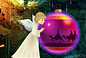 White Christmas animated Flash ecard