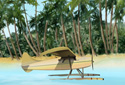 Tropical Escape animated Flash ecard
