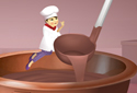 The Chocolate Shop animated Flash ecard