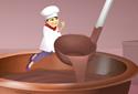 Chocolate Shop animované Flash pohlednice