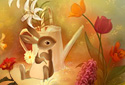 An Easter Tale animated Flash ecard