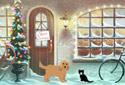 Christmas at Chudwell's animated Flash ecard