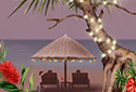 Tropical Escape (Holiday Version) animated Flash ecard