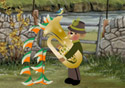 Tuba Trouble animated Flash ecard