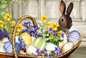 Easter Basket animated Flash ecard