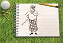 Tee Time animated Flash ecard