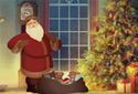 Night Before Christmas animated Flash ecard