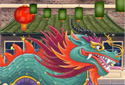 Dragon Tail animated Flash ecard