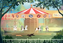Carousel Chase animated Flash ecard
