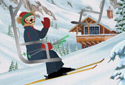 Ski Trip animated Flash ecard