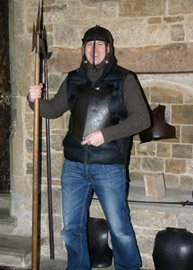 Tom in Armour