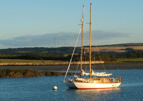 SCOD sailboat
