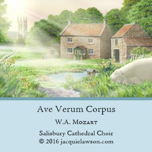 Ave Verum Corpus music credit