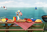 Patriotic Picnic e-card