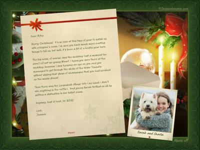 Jacquie Lawson Christmas Letter