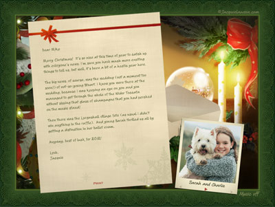 E cards and animated greeting cards by jacquie lawson behind the jacquie lawson christmas letter m4hsunfo