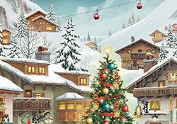alpine advent calendar