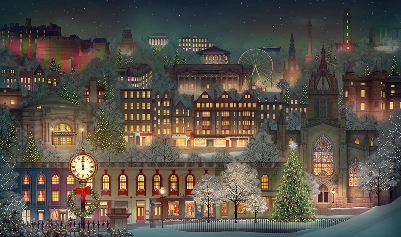 2018 jacquie lawson advent calendar edinburgh